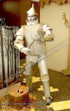 Original+Homemade+Tin+Man+Costume  sc 1 st  Pinterest & Tin Man - Wizard Of Oz u2026 | Costumesu2026