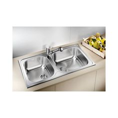 Blanco Tipo XL 9 Stainless Steel Kitchen Sink 950 x 500 Stainless Steel Kitchen Sink, Kitchen Remodel, Modern Kitchen, Kitchen Remodel Small, Kitchen, New Kitchen, Kitchen Sink Install, New Kitchen Cabinets, Sink