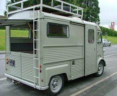 Citroen H-van Camper Citroen Type H, Citroen H Van, Mini Camper, Micro Campers, Camper Caravan, Camper Trailers, Truck Camper, Station Wagon, Old Used Cars