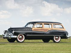 1950 Buick Super Estate Station Wagon