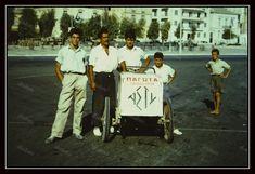 https://flic.kr/p/22VF1qA   Πειραιάς, Πασαλιμάνι, δεκαετία 1950. Πίσω η πλατεία Κανάρη.