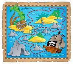 pirate%3A+Treasure+mapa+t%C3%A9ma