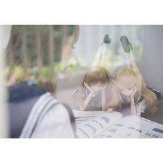 Mirai Suenaga and Kizuna Yumeno Smart Doll by teptepp_