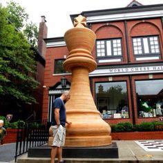 Worlds Largest Chess Piece