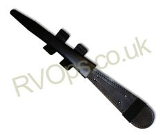 Black Leather Scabbard for Commando Dagger  Available from RVOps http://www.rvops.co.uk/Catalogue/Memorabilia/Ornamental-Daggers/Dagger-Scabbard/Black-Leather-Scabbard-for-Commando-Dagger-CD-SH#sthash.M9GQTmRP.dpbs