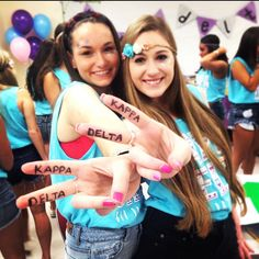 Kappa Delta at Sacred Heart University #KappaDelta #KD #BidDay #sorority #SacredHeart