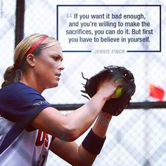 Best Ideas For Sport Quotes Softball Jennie Finch Softball Memes, Softball Coach, Baseball Quotes, Softball Players, Girls Softball, Fastpitch Softball, Softball Stuff, Softball Sayings, Inspirational Softball Quotes