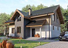 Apaixone-se por esta casa incrível com ótimas ideias na planta (De Eduardo Prado - homify)
