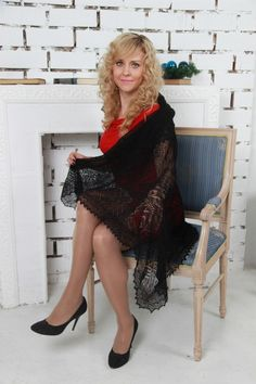 Over 40 woman sitting in chair wearing black pantyhose  Older Women Over 40  Pinterest  Sexy