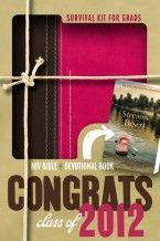 Like a compass pointing you in the right direction, the Survival Kit for Grads is a life-saving tool for the next step of the journey. With an NIV Bible and a copy of the devotional Streams in the Desert, the Survival Kit for Grads is the complete package. Smaller than an iPad, the compact thinline format of the NIV Bible is a convenient way for young adults to carry God's Word wherever life takes them.   Read the full review: http://mtlmagazine.com/review/survival-kit-for-grads/