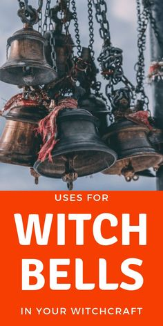 Magick Bells In Witchcraft And Paganism - Eclectic Witchcraft Bells are a must have for Wiccans and eclectic witches! Learn the mystical uses for bells, from cleansing your home of negative energy to invoking a goddess or the elements in your rituals. Magick Spells, Witchcraft, Eclectic Witch, Modern Witch, White Witch, Coven, Book Of Shadows, Occult, Mystic