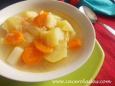 Sopa de verduras (depurativa).
