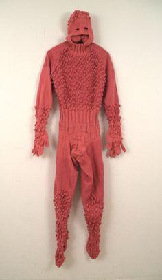 mark newport, hand-knit costumes