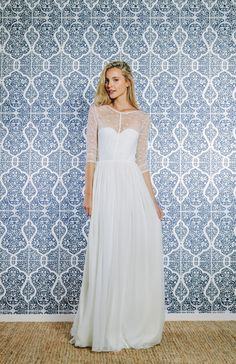 Gorgeous And Fun Swiss Dot Wedding Dress By Grace Loves Lace So Pretty Ethereal