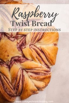 Easy Bread Recipe for Winter Baking! Raspberry Twist Bread step-by-step instructions for simple but impressive holiday bread! Easy Bread Recipes, Healthy Recipes, Delicious Recipes, Holiday Bread, Recipe Cover, Best Italian Recipes, Dinner Sides, Perfect Food, Meal Planning