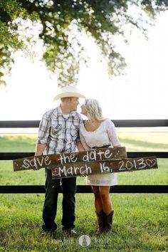 "Minus his cowboy hat--- 50 ""Save the Date"" Photo Ideas Wedding Save The Dates, Wedding Pictures, Our Wedding, Dream Wedding, Wedding Stuff, Country Engagement, Engagement Couple, Engagement Pictures, Engagement Ideas"