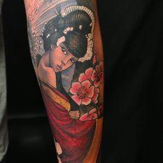 Photo by tattooculturemagazine Tattoo by Jon von Glahn of Olde Town Tattoo in Saint Cloud, MN.