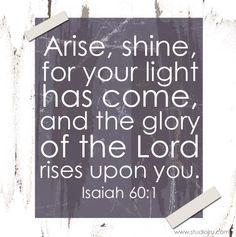 Scripture Note Isaiah 60 from StudioJRU