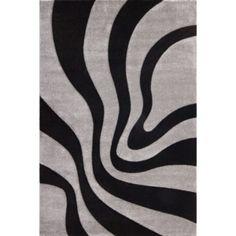 France Provence Handmade Black Rug Lalee Rug size: Rectangular 120 x Black And Grey Rugs, Dark Grey Rug, Brown Rug, White Rug, Coral Rug, Gold Rug, Orange Rugs, Red Rugs, Rugs