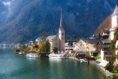 https://flic.kr/p/M6MLPo   village by the lake   Hallstatt, Austria