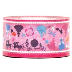 Cinderella Paper Tape fairy tale shoe 1