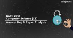 Gate Computer Science 2018 Answer Key Exam Calendar, Entrance Exam, Computer Science, Gate, Key, Portal, Unique Key, Gates, Keys