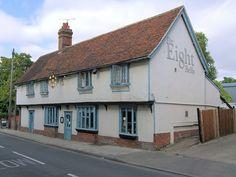 The Eight Bells Pub, Saffron Walden.  First regular town pub