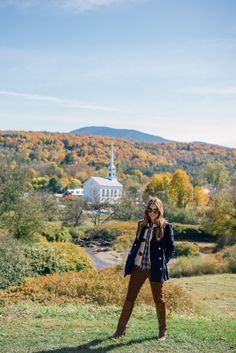 Gal Meets Glam Stowe Vermont Fall Foliage