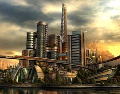 The City of Future by e-designer.deviantart.com on @DeviantArt