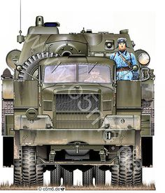 Engines of the Red Army in WW2 - Diamond-T 980, an American-built truck.
