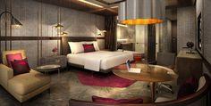 Conrad Hotel in Bangalore, India designed by Studio HBA.