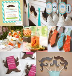 Little Man Party http://www.simplyfamilymagazine.com/online/2012/06/s-is-for-summer-showers/