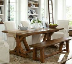 Wells Extending Dining Table Pottery Barn Throughout Pottery Barn Dining  Room Set : Pottery Barn Dining Room Set : Nghd.