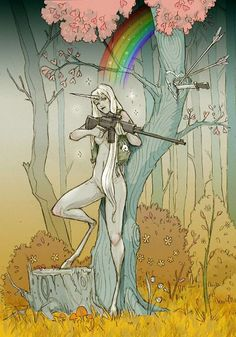 unicorn girl (the last unicorn ain't going down without a fight)