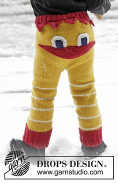 Children - Free knitting patterns and crochet patterns by DROPS Design Baby Knitting Patterns, Knitting For Kids, Crochet For Kids, Free Knitting, Knitting Projects, Knit Crochet, Crochet Patterns, Baby Pants, Kids Pants