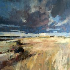 Heavy Sky oil on canvas, 90x90cm 2015 Paul Bell