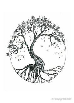 Small Tree of Life Tattoo Designs | flat,800x800,070,f.jpg