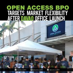 Multilingual #CallCenter, Open Access BPO highlights market flexibility and global competitiveness in its August 11 official launch in #Davao City.
