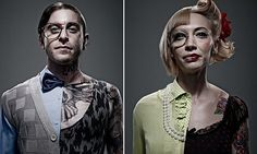 Communicate and Alter Ego - Toby Dixon, who is based in Sydney, Australia, recruited a stylist and make-up artist to transform a man and woman's appearance into two halves. Product Photography, Photography Ideas, A Level Art, Personal Portfolio, School Lessons, Alter Ego, Sydney Australia, Makeup Inspo, Design Crafts