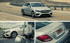 Full instrumented test of the 2017 Mercedes-Benz E300, which sits at the leading…