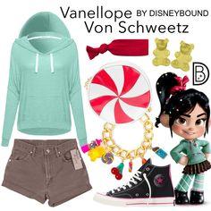 Disney Costume plus Cakeworthy Sugar Rush clutch, black baseball cap and plaid sneakers Disney Bound Outfits Casual, Cute Disney Outfits, Disney Themed Outfits, Disneyland Outfits, Cute Outfits, Disney Dresses, Disney Costume Makeup, Disney Cosplay, Disney Costumes