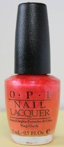OPI - Beach Party Collection ~ Summer/2001 - Strawberried In The Sand