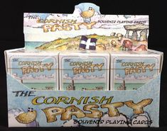 CORNISH PASTY PLAYING CARDS | Cornwall: (pic.  JBA Facebook Page posted 06 December 2016)     ✫ღ⊰n Cornish Pasties, Cornwall, December, Playing Cards, Facebook, Playing Card Games, Game Cards, Playing Card