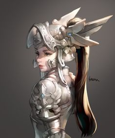 ArtStation - girl_knight, MA JO