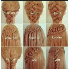 Fancy braids