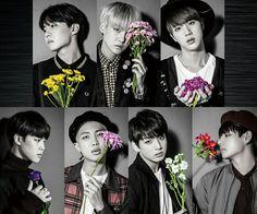 BTS flowers