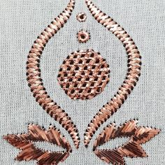 Best in wire wrapping technique work continues❗❗❗ STAGE WORK For one to one education eg Tricks of the technique . Zardosi Embroidery, Hand Work Embroidery, Embroidery Fashion, Crewel Embroidery, Embroidery Designs, Diy Lace Doily Bowl, Lace Doilies, Cool Designs To Draw, Circle Drawing