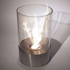 Nu-Flame Accenda Portable Decorative Ethanol Burning Tabletop Bio-Fireplace