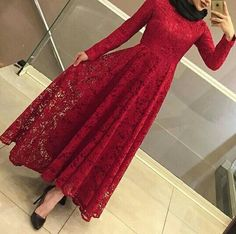 #hijab #hijabsoiree #hijabdress Pinterest: @GehadGee Hijab Evening Dress, Hijab Dress Party, Hijab Style Dress, Evening Dresses, Abaya Fashion, Fashion Dresses, Hijabi Gowns, Muslim Women Fashion, Outfit Look