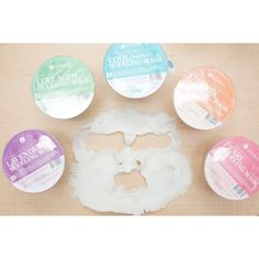 Modeling Rubber Mask Sets Lindsay Natural Korean Beauty Skincare Mask